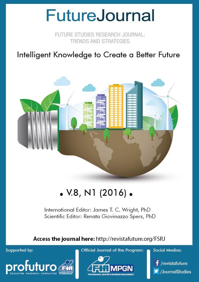 View Vol. 8 No. 1 (2016): Future Studies Research Journal