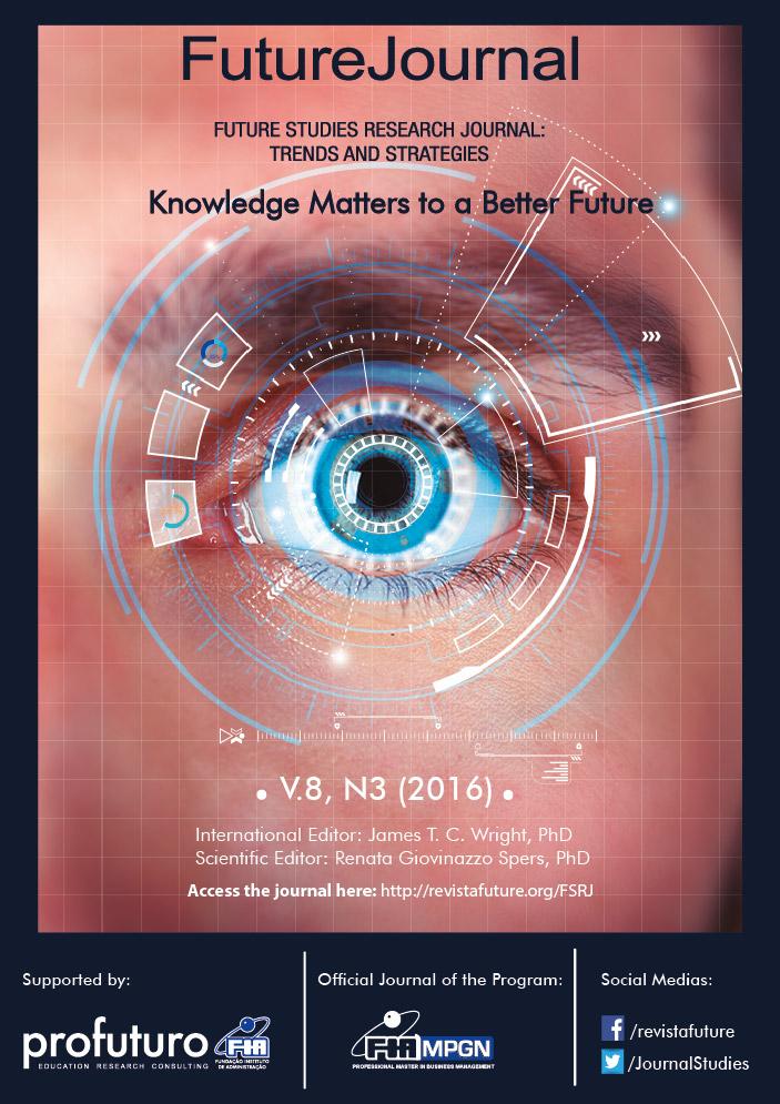 View Vol. 8 No. 3 (2016): Future Studies Research Journal
