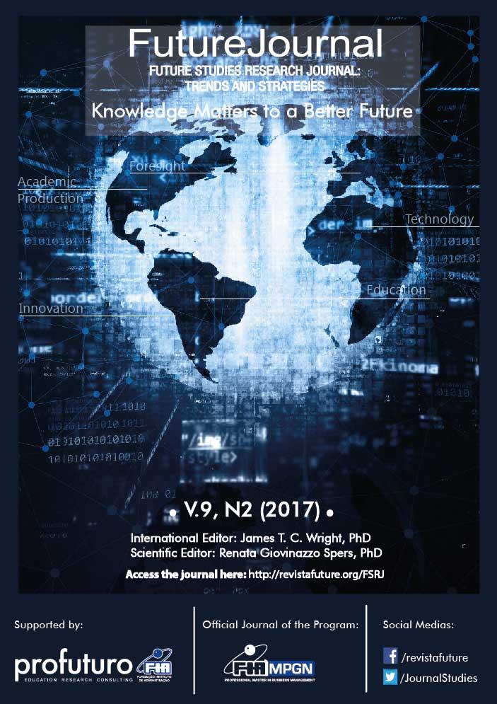 View Vol. 9 No. 2 (2017): Future Studies Research Journal